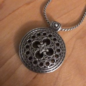 Brighton Pendant and Thick Chain Necklace